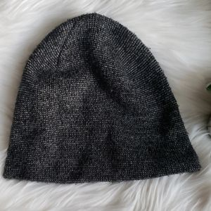 H&M Black and White Beanie Hat